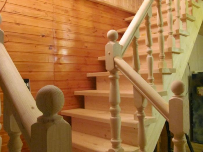 установка лестницы деревянной цена за работу самые дешевые
